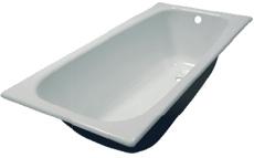 Новокузнецкая чугунная ванна 150