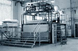Акриловая ванна вкладыш: производство
