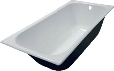 Чугунная ванна ностальжи 150Х70
