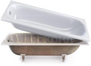 акриловая вкладка в ванну