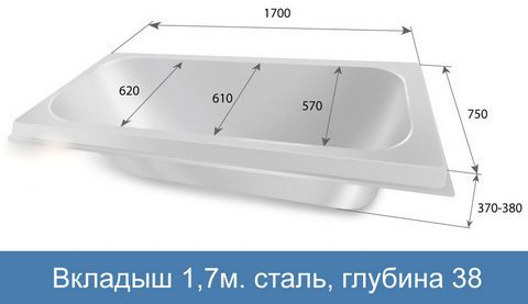 Вкладыш 170 сталь
