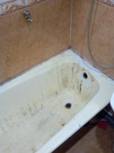 вставки в ванны