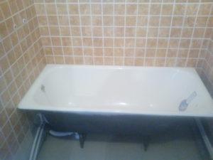 установка ванны 2