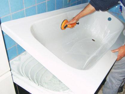 Акриловая ванна в ванну. Преимущества и недостатки