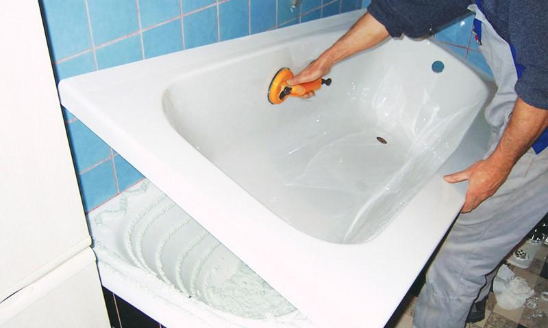 В 2018 акриловый вкладыш в ванну актуален