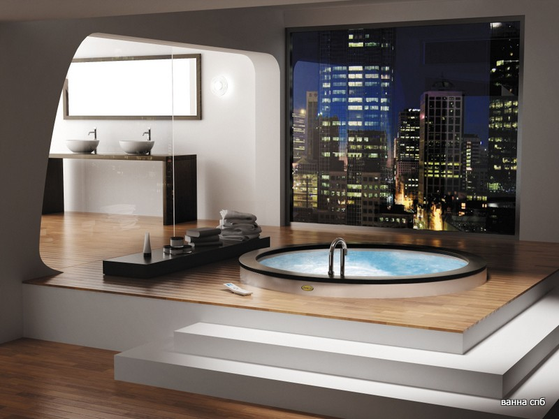 Достоинства акриловых ванн