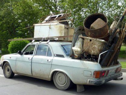Вывоз мусора в современном городе