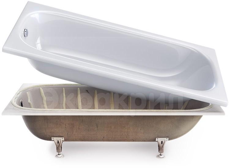 Акриловый вкладыш в ванную или жидкий акрил?